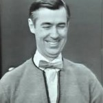 Mr. Rogers Middle Fingers